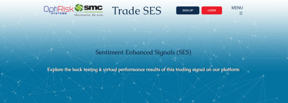 Trade SES - library of stock trading signal results