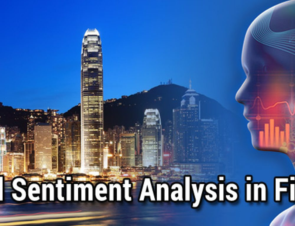 AI and Sentiment Analysis in Finance, Hong Kong, 8 March 2018