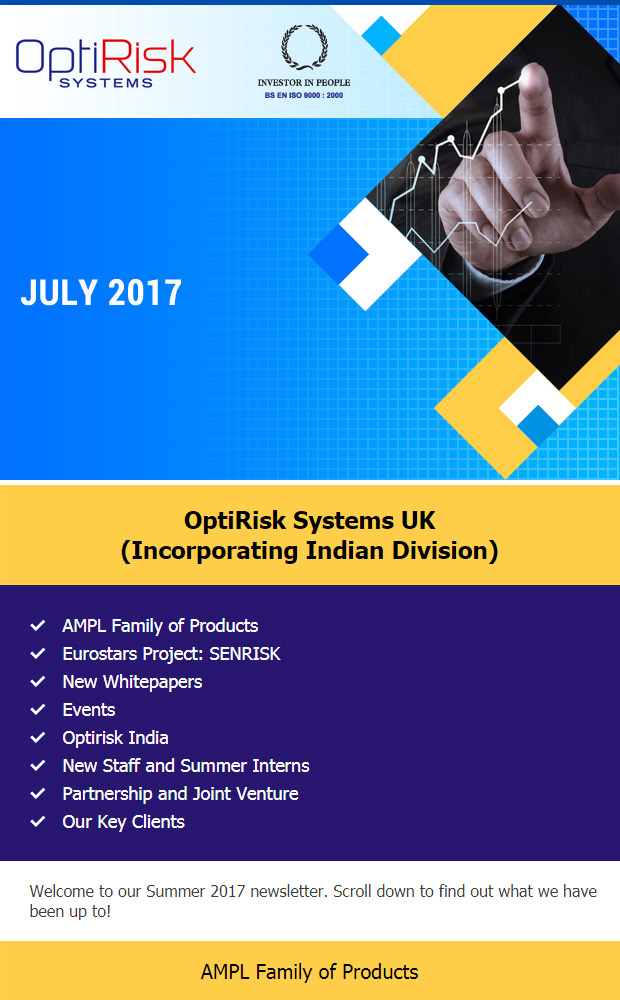 Newsletter July 2017