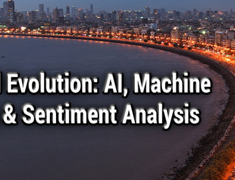 Financial Evolution: AI, Machine Learning and Sentiment Analysis, Mumbai, 14 March 2019