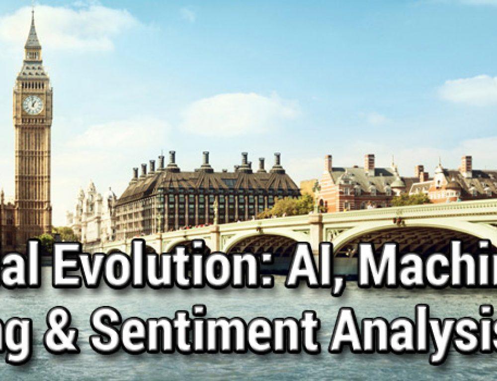 Financial Evolution: AI, Machine Learning & Sentiment Analysis, London, 25 – 26 June 2019